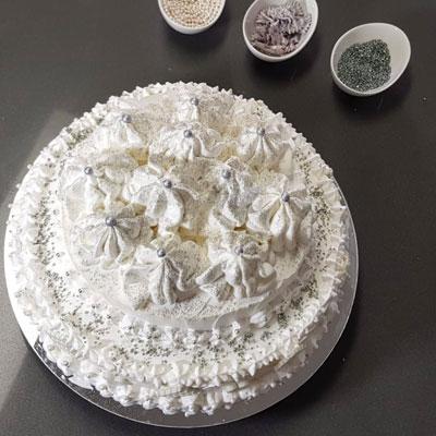 עוגת גבינה ושוקולד לבן | צמד השבוע